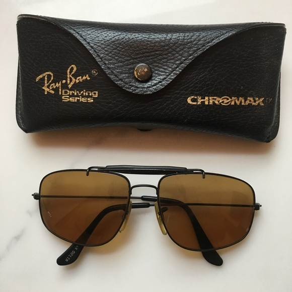 3d83b52482 Vintage Ray-Ban Driving Series Chromax sunglasses.  M 59f4d087620ff733eb0201f6
