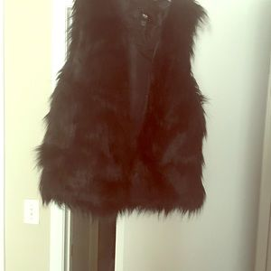 Other - Gently worn synthetic fur vest, good shape