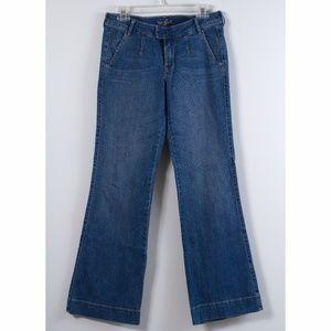 Old Navy The Flirt Wide Leg Jeans