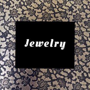 Necklaces, Earrings, rings, bracelets