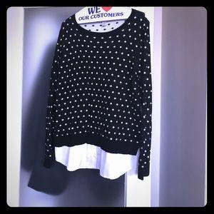 Loft Black Dressy Sweater