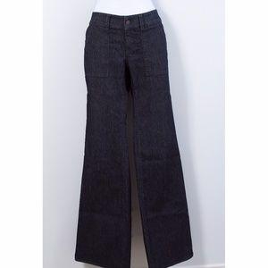 Ann Taylor Dark Wash Dressy Jeans
