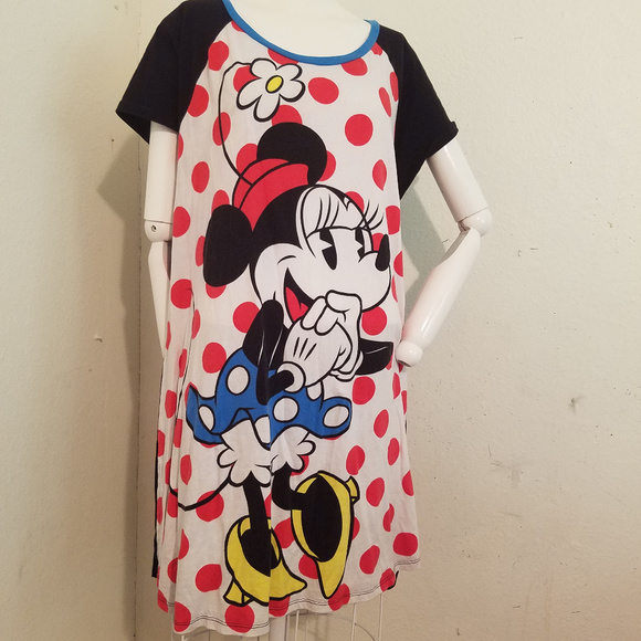495bfe67681 Disney Other - Plus 2X 3X Disney Minnie Mouse Sleep Shirt