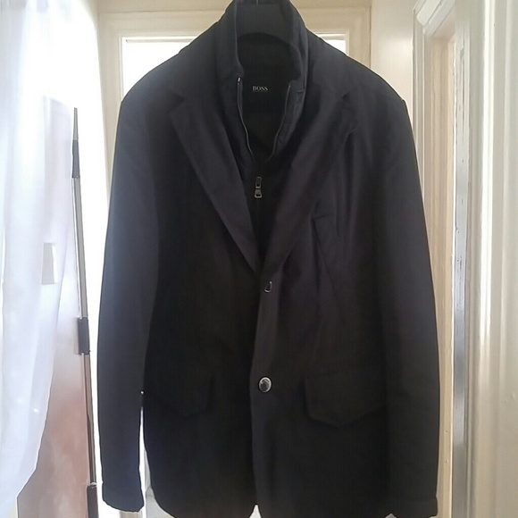 2f51d9aea Hugo Boss Jackets & Coats | Mens Dress Casual Fallwinter Coat | Poshmark