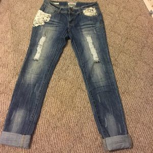 Fashionable jeans