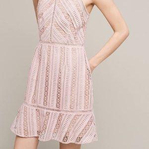 Anthropologie Emelia Lace Mini Dress