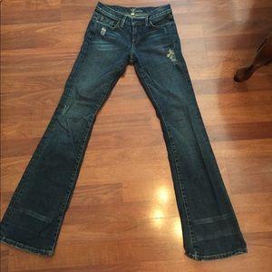 Bebe crystal jeans