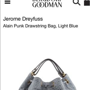 Alain Bags - Jerome Dreyfuss Alain Punk Bag