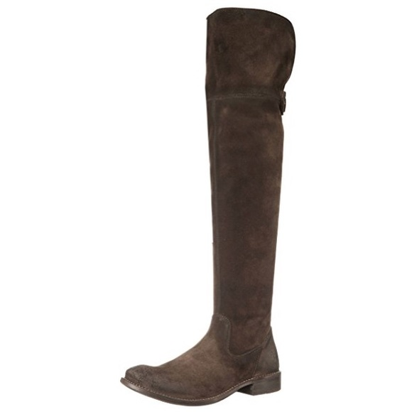 8dd5cbcf886 Frye Shoes - Frye Shirley OTK Over the Knee Suede Boots 8