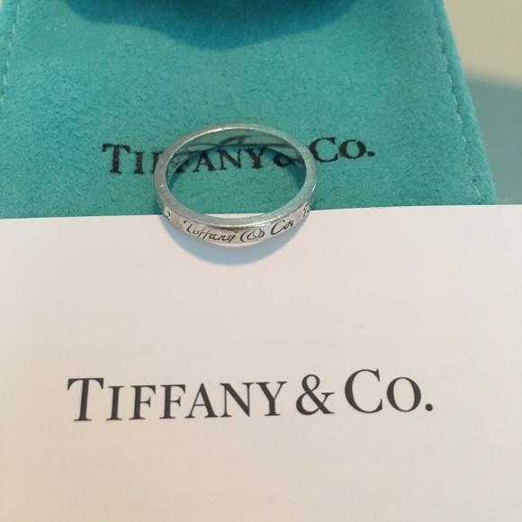 7fc44513b9eb Tiffany   Co Notes Sterling Silver Ring Sz 6.5. M 59f4e67e4127d0357a025919