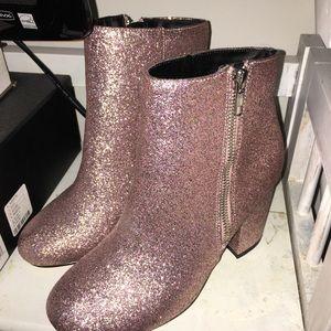 ebaca299301d ASOS Shoes - ASOS Regan Wide Fit Glitter Boots