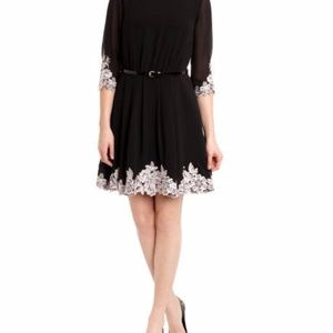 123ded48c Ted Baker Dresses - Ted Baker UK Feay Belted Lace Embellished Dress