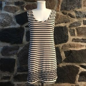 Dresses & Skirts - Striped cotton tube dress