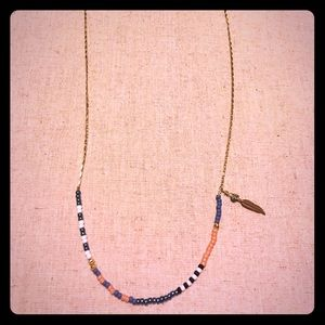 Bead & Gold Necklace
