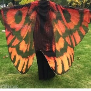 Accessories - MAKE AN OFFER‼️ New butterfly scarf.