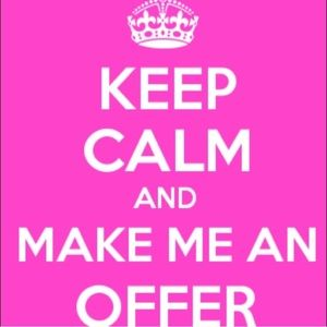 Make me an offer I can't refuse!  😊✨