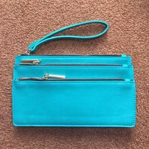 3 Zipper Teal a Urban Outfitters Clutch