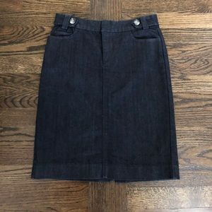 🔥5 for $25 Banana Republic jean pencil skirt