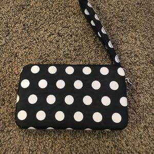 Handbags - 🌈FREE WITH PURCHASE🌈 Polka dot wristlet