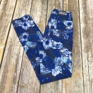 Justice Floral Print Jeans