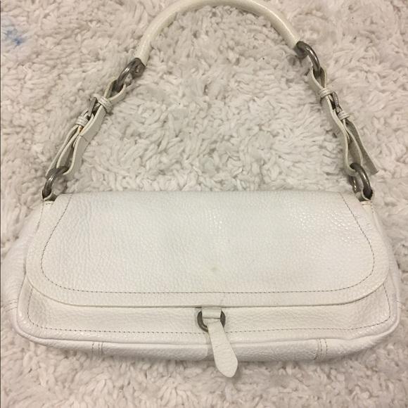 2172d5c0fb18 PRADA MILANO white shoulder bag No.8833313. M_59f551647f0a05f5b2044146