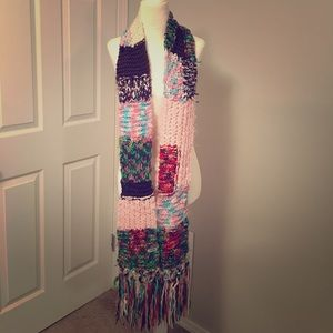 Guess knit winter scarf