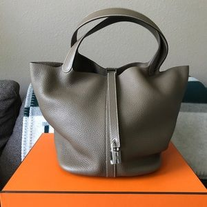 Authentic Hermes Picotin Lock 26 ETOUPE