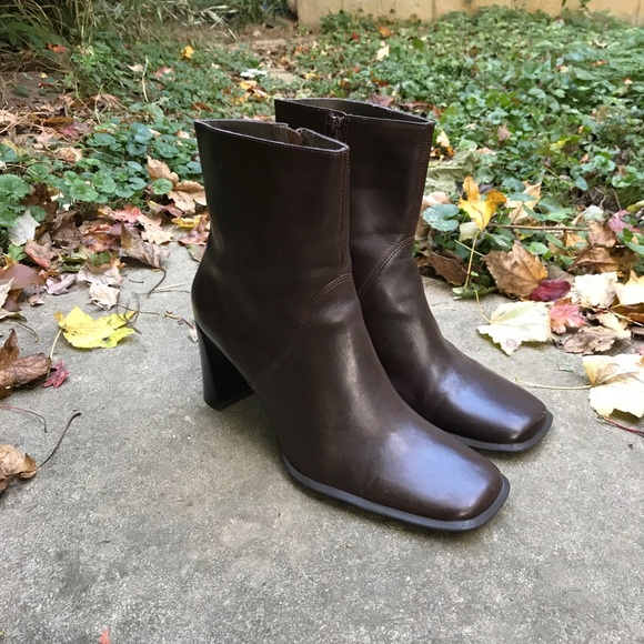 parade shoes vintage 1990s womens leather ankle boots poshmark