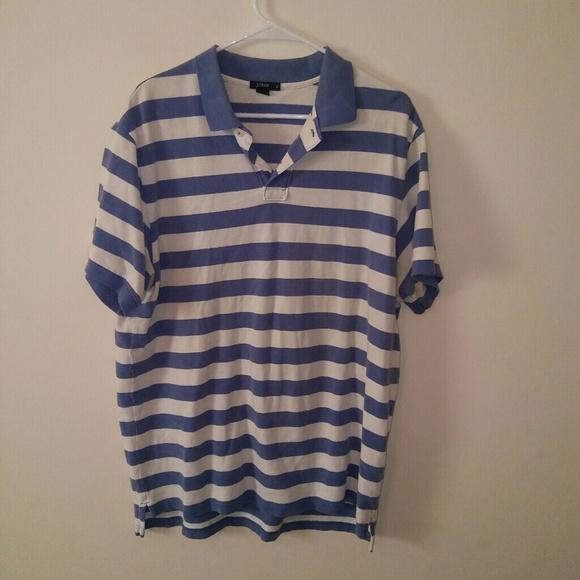 9a820d7ca J. Crew Shirts | J Crew Mens Xl Classic Pique Striped Polo Shirt ...