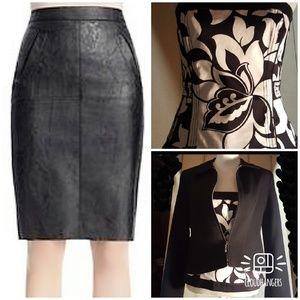CAbi fleather skirt