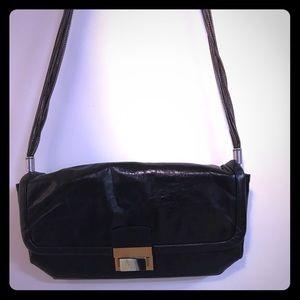 Black Lanvin purse