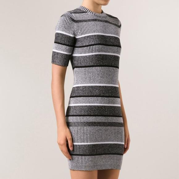 c2a0ccd06dc Dresses   Skirts - T BY A WANG    Striped Rib Knit Sweater Dress