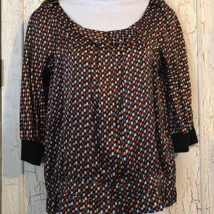 See by Chole 100% Silk Top size 6