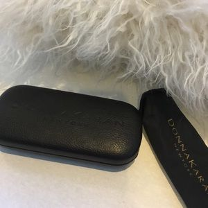 Donna Karan Sunglasses Case with Lens Wipe