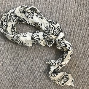 Accessories - Zebra Print Scarf
