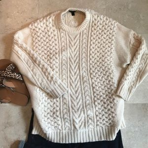 Sweaters - J.Crew heavy wool sweater
