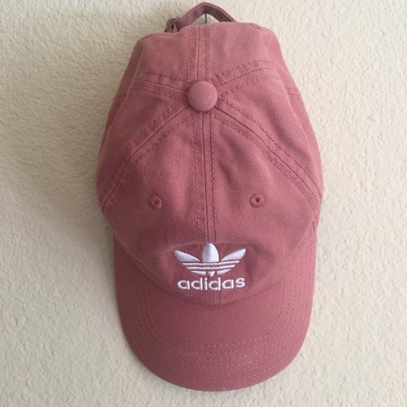 ada76b7161d07 adidas Accessories - Raw pink Adidas hat