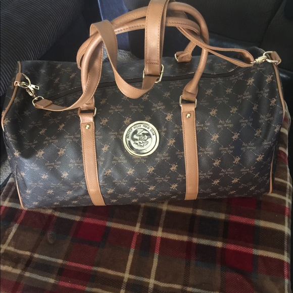 78bca39ae97e beverly hills polo club Other - Leather Beverly Hills polo club travel bag.