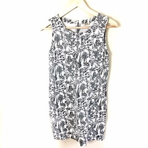 Jack Wills Size 2 Dress in Black & White