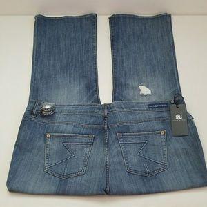 NWT Rock & Republic Distressed Denim Jeans