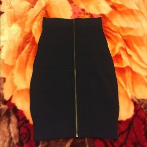 New french connection midi bandage skirt size 4
