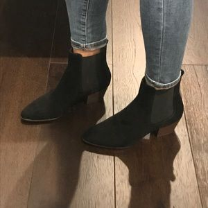 a9e088336 Sam Edelman Shoes - Brand New Sam Edelman Black Suede Reesa Bootie Sz7
