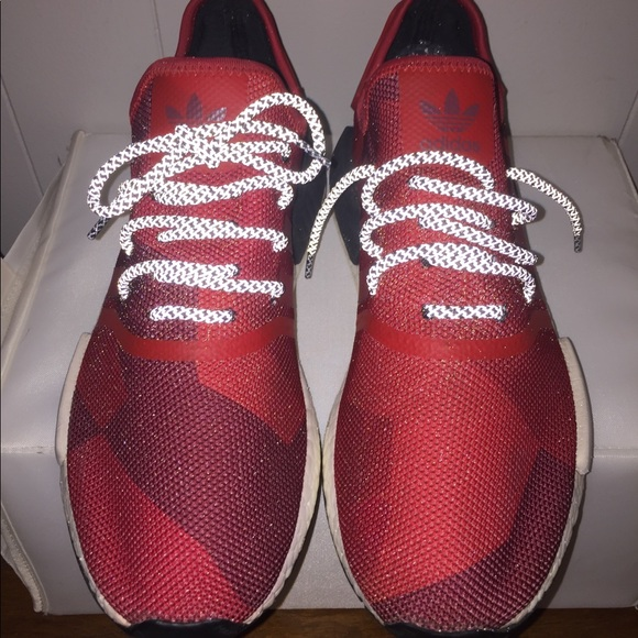 "6b2f3e703b0 Adidas Other - Adidas Nmd R1 ""geometric red"" (uncaged custom)"