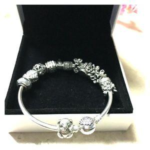 Jewelry - Baby Girl Bear Charm for Pandora Bracelet