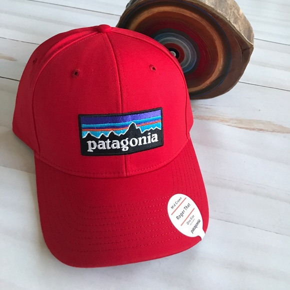 Patagonia Mid Crown Roger That Men s Hat Red New d69d0bb4da8