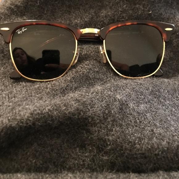 269181d157 Ray ban clubmaster tortoise men s glasses. M 59f50c5af0928295d402fa52