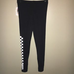 17a1b99b140b1 Vans Pants | Nwt For Urban Outfitters Checker Leggings | Poshmark