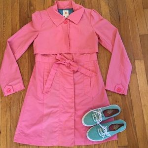 Tulle coat Adorable peachy pink size S