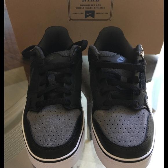 b1868cbb2cfa8 Nike Morgan 2 SE JR Black Anthracite white Sz. 6Y