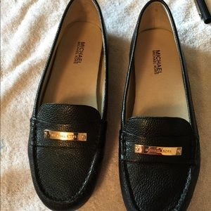 cc132a25b7a MICHAEL Michael Kors Shoes - Michael Kors women s black leather Everett  loafer